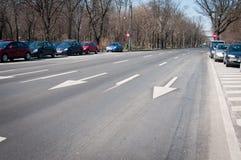 Street lanes Stock Photo