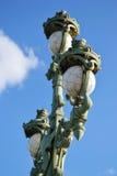 Street lantern. On the bridge in St.Petersburg, Russia Stock Image