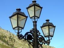 Street lantern. In Mijas, Costa Del Sol, Spain Stock Photo