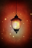 Street lantern royalty free illustration