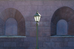Street lantern in histrical centre of St-Petersburg Stock Images