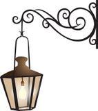 Street lantern illustration Stock Photos