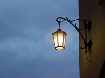 Street lantern light Stock Photography
