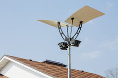 Street lantern with a modern design Royalty Free Stock Photography