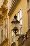 Street lantern. In the old town of Vienna, Austria Royalty Free Stock Photo