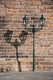 Street lantern in Prague Royalty Free Stock Photography