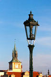 Street lantern in Prague Stock Photos