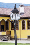 Street lantern  on a vintage building background Royalty Free Stock Photography