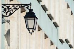 Street lanterns in Colmar, France Stock Images