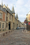 Street in Laon, France Royalty Free Stock Images