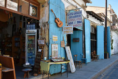 Street in Larnaka Royalty Free Stock Photos