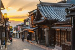 Old Town district of Kyoto Japan Stock Image