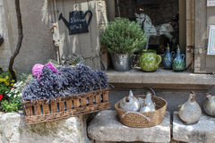 Street Les Baux-de-Provence, France Stock Image