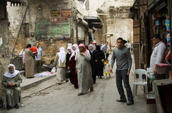 Street life in Aleppo, Syria Royalty Free Stock Images