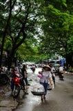 Street Life in Ha Noi - Viet Nam Stock Image