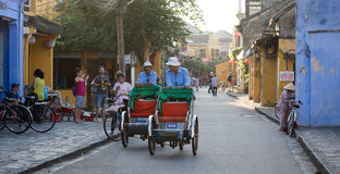 Street life in Hoi An, Vietnam Stock Photos