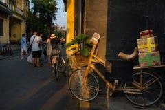 Street life  , Hoian - Vietnam Stock Photo