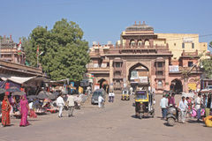 Street life of the Jodhpur , the blue city Stock Image
