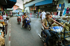 Street life on the Koh Lan island Royalty Free Stock Photography