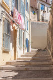 Street life Le panier Marseilles Stock Photo