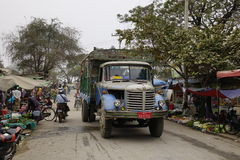 Street life in Mandalay, Myanmar Royalty Free Stock Photography