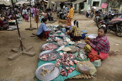 Street life in Mandalay, Myanmar Royalty Free Stock Photo