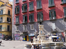 Street Life in Naples Royalty Free Stock Photos