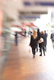 Street life in New York - blurred Royalty Free Stock Photos