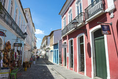Street Life Pelourinho Salvador Brazil Royalty Free Stock Images