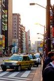Street life in Asakusa Crossing,Japan Royalty Free Stock Photos