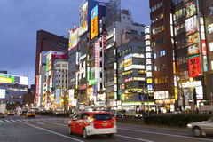 Street life in Shinjuku Royalty Free Stock Images