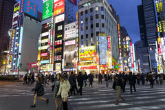 Street life in Shinjuku Stock Images