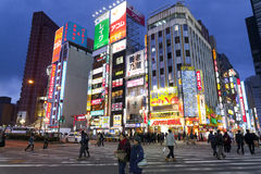 Street life in Shinjuku Royalty Free Stock Image