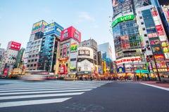 Street life in Shinjuku Stock Images
