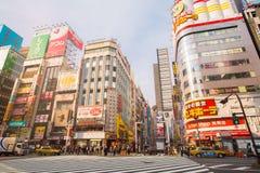 Street life in Shinjuku Stock Photos