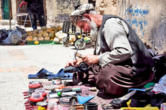Street life in Shiraz, Iran Royalty Free Stock Photo