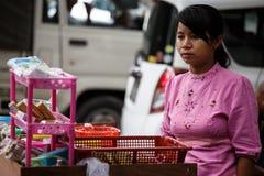 Street Life - Yangon, Myanmar Stock Images