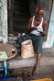 Street Life - Yangon, Myanmar Royalty Free Stock Image