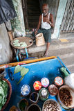 Street Life - Yangon, Myanmar Royalty Free Stock Photos