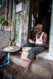 Street Life - Yangon, Myanmar Royalty Free Stock Photo