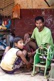 Street Life - Yangon, Myanmar Stock Photos