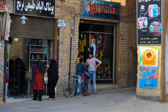 STREET LIFE IN YAZD Royalty Free Stock Photo