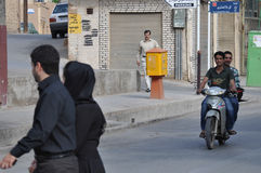 STREET LIFE IN YAZD Royalty Free Stock Images