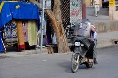 STREET LIFE IN YAZD Royalty Free Stock Photos