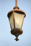 Street Light. Old Street Lamp With Blue Sky In The Background Stock Photography