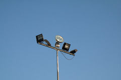 Street light in afternoon Stock Photo