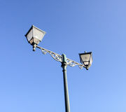 Street light. Background, blue sky Stock Photo