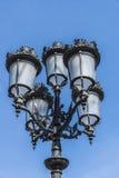 Street Light in Barcelona Royalty Free Stock Photo