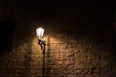 Street light in Barceloona Stock Photo