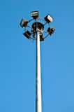Street light and blue sky Royalty Free Stock Photos